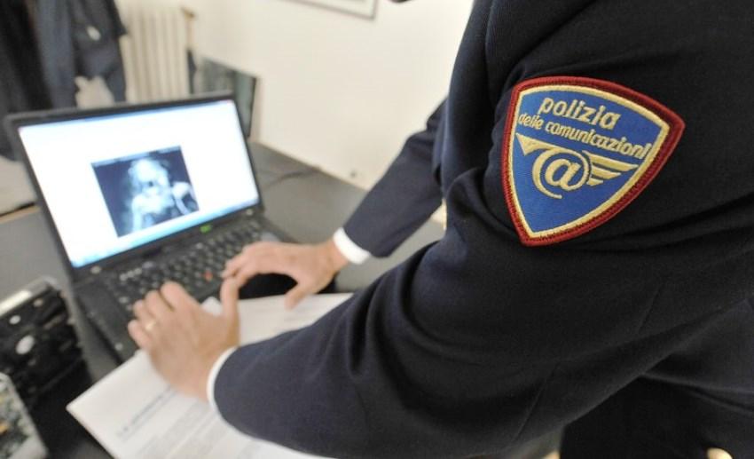 Roma pedopornografia, polizia postale