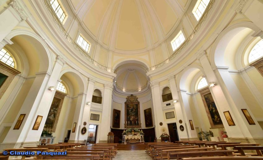Messa, Chiesa dell'Assunta, Valmontone