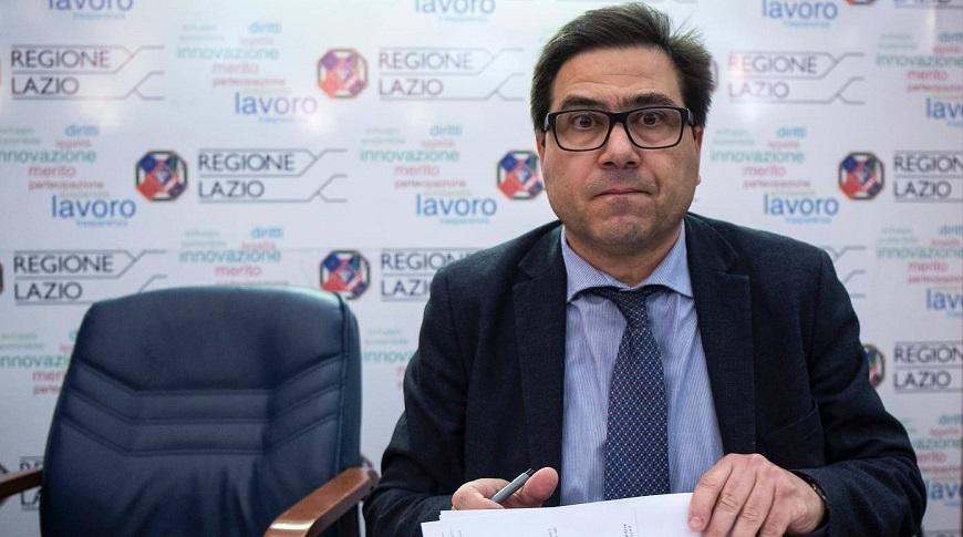 Covid Lazio 13 novembre, Alessio D'Amato
