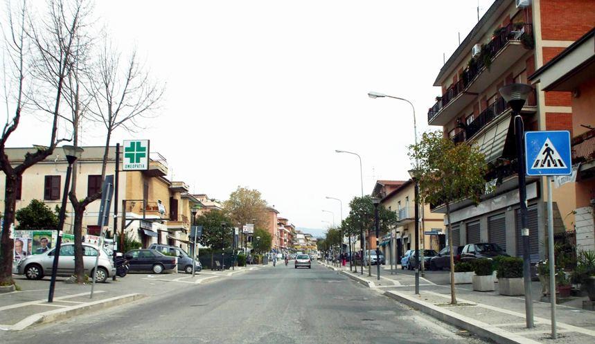 La frazione di Pavona