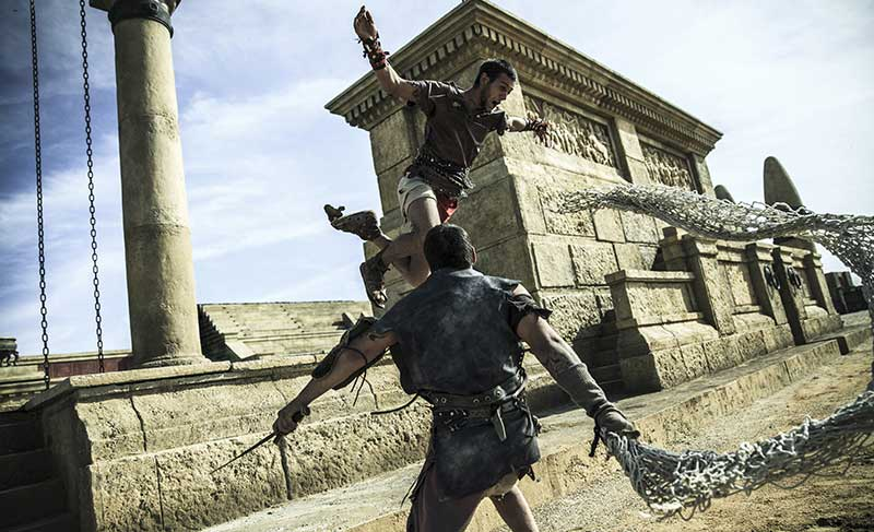 Roma World Gladiatori nell'arena