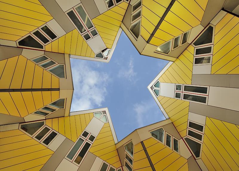 Viaggio a Rotterdam, le case cubiche