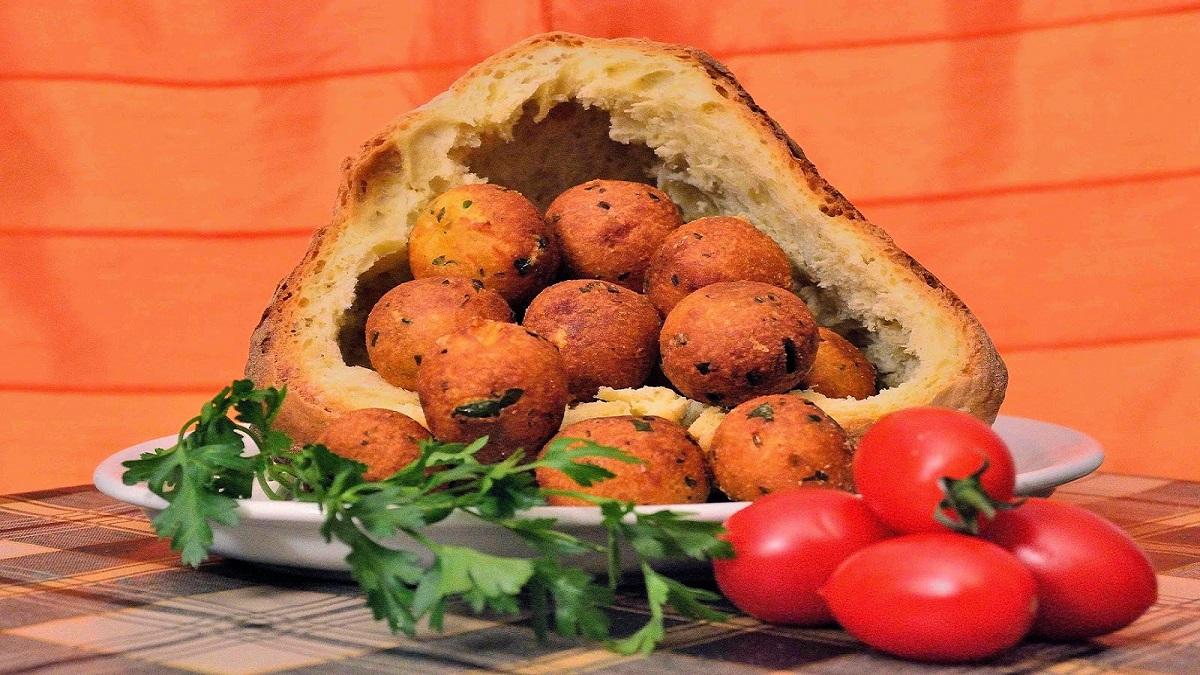 Quarantena in cucina, Polpette di pane