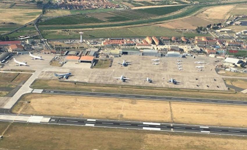 Aeroporto militare Ciampino dove ha perso la vita Luca Morra
