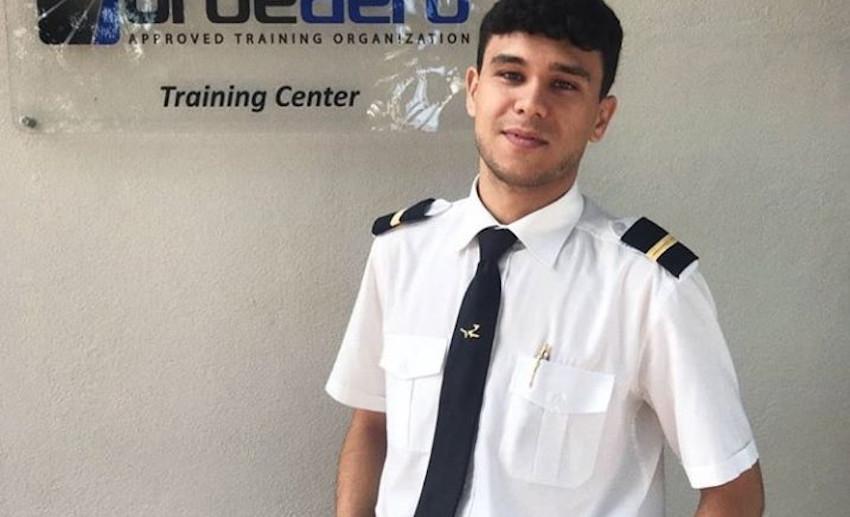 Daniele Papa, aereo caduto nel Tevere