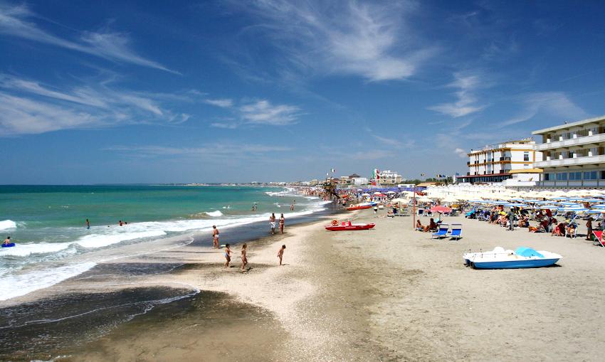 29 maggio, Spiagge Lazio