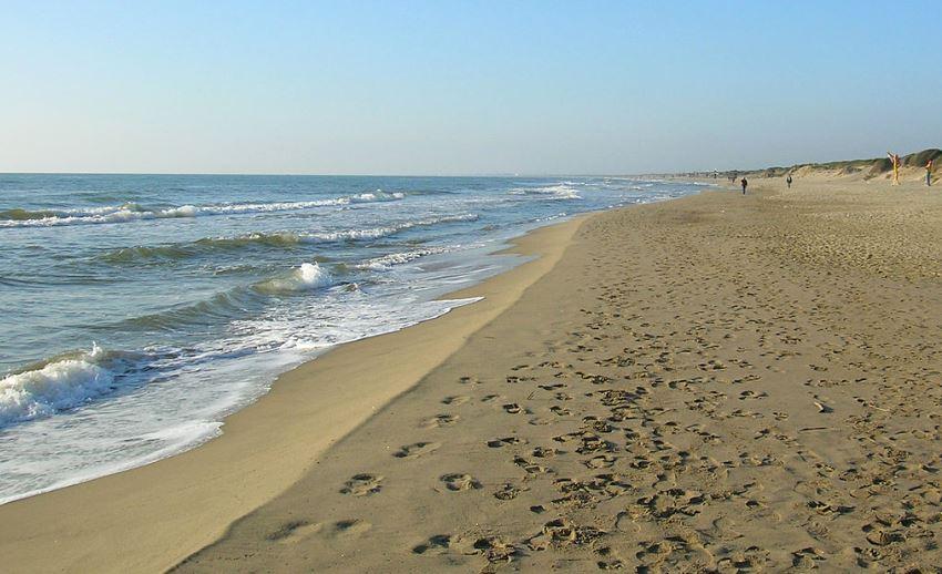 Spiaggia ad Ostia