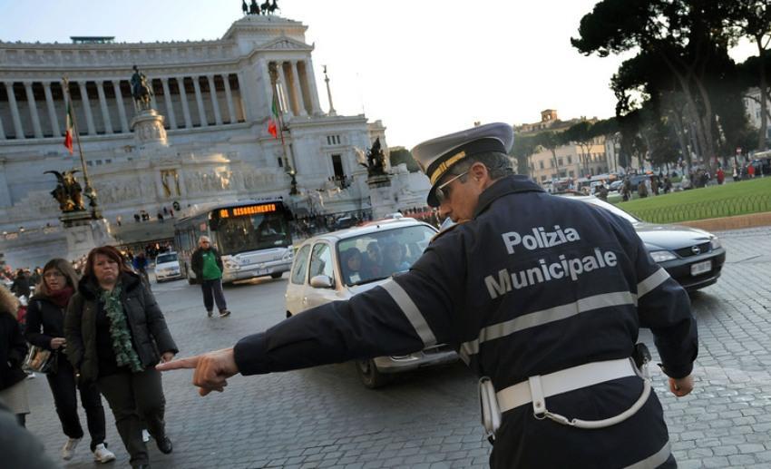 stop auto ztl roma