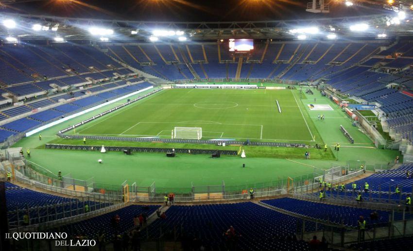 Nesta e Totti, stadio olimpico