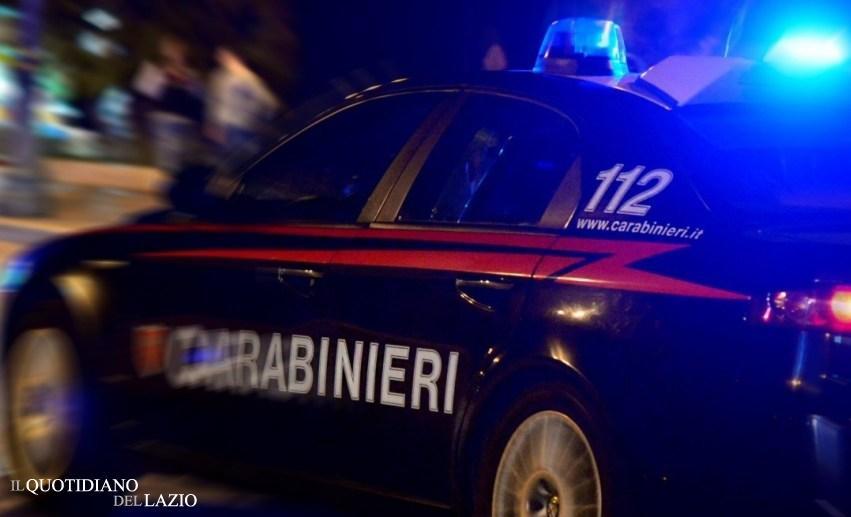 Giovane pusher, carabinieri