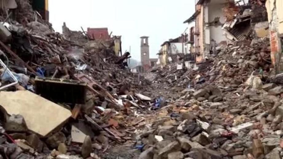 Messa terremoto Amatrice