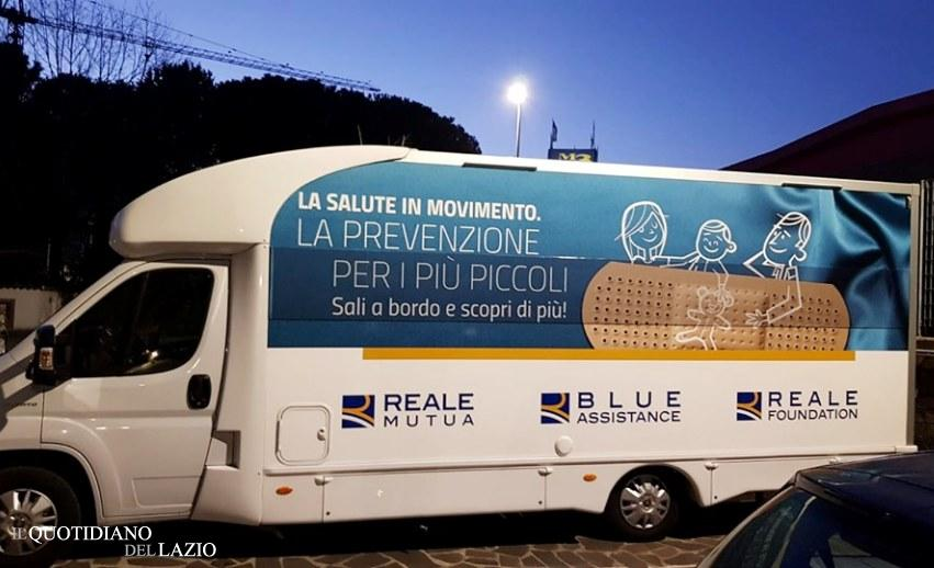 Reale Group E Il Camper La Salute In Movimento Ad Albano Laziale Il Quotidiano Del Lazio
