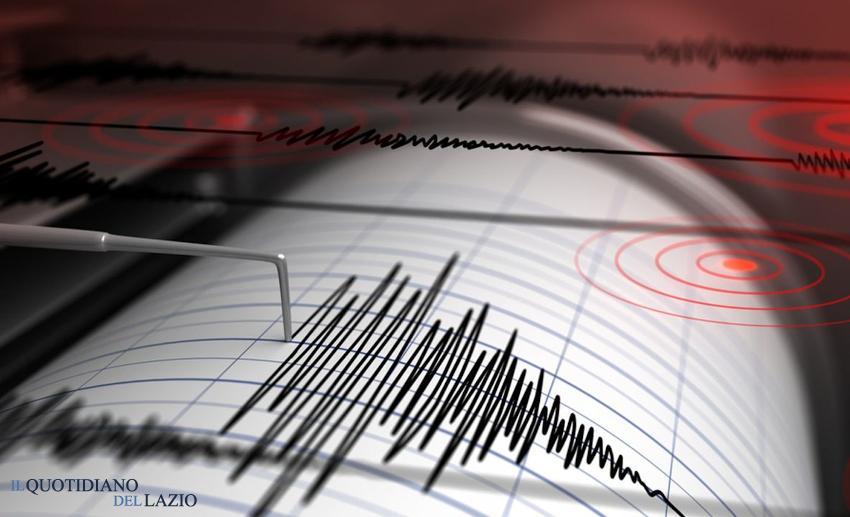 terremoto roma provincia