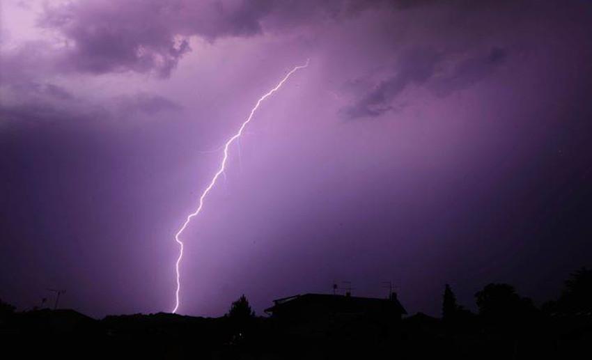 Maltempo Lazio, fenomeni elettrici