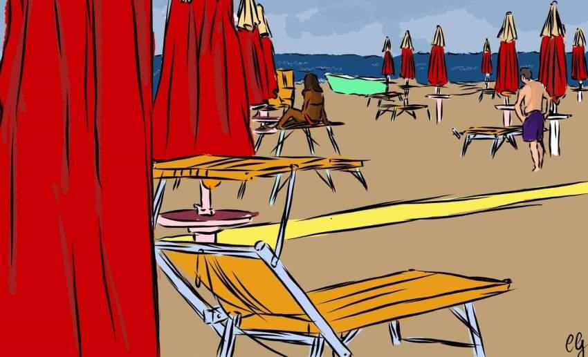 Regione Lazio, spiaggia