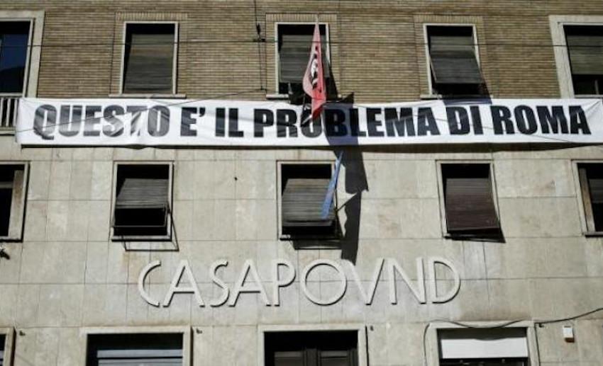 Sgombero Casapound