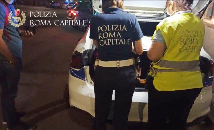 Trastevere e Ponte Milvio, Polizia Roma Capitale