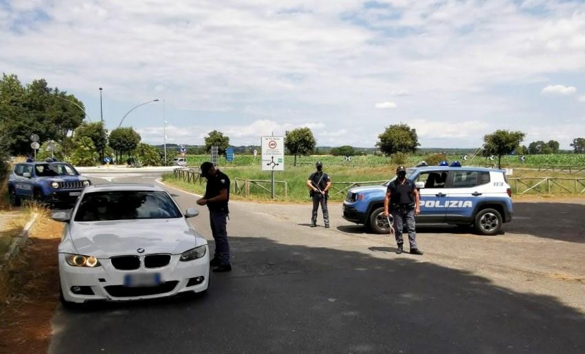 Norme anti-Covid, controlli Polizia