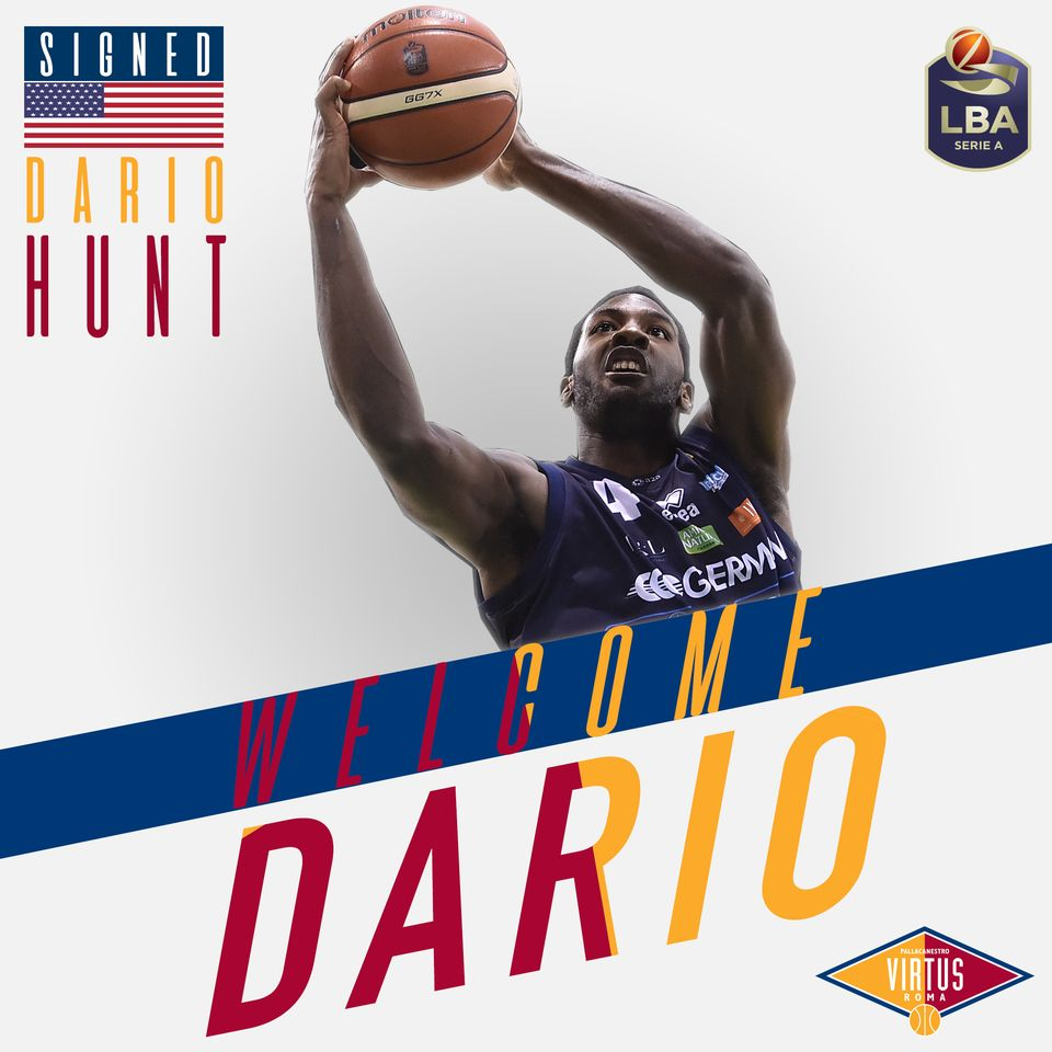 dario hunt virtus roma