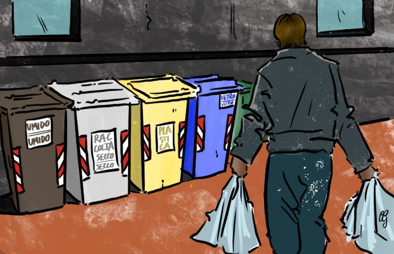 Piano rifiuti, Regione Lazio
