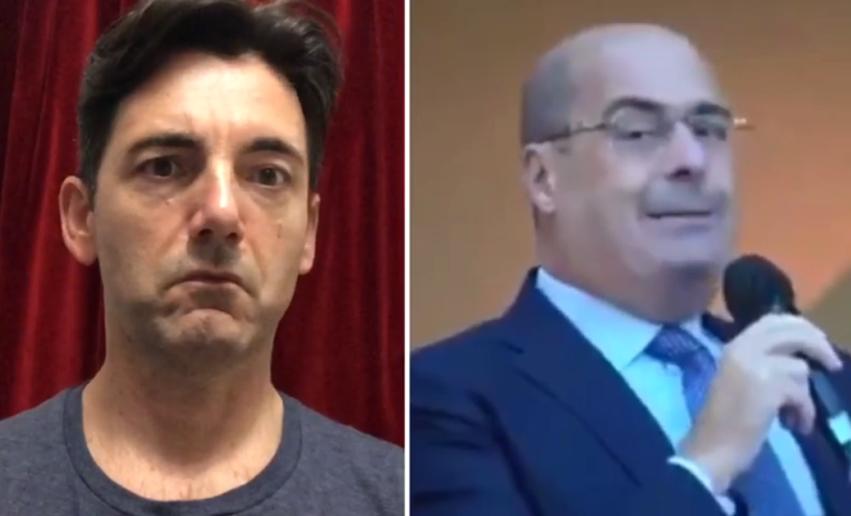 Nicola Zingaretti, non ha più paura