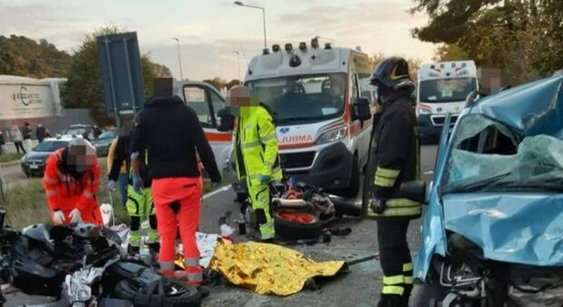 umbro casentinese incidente morto