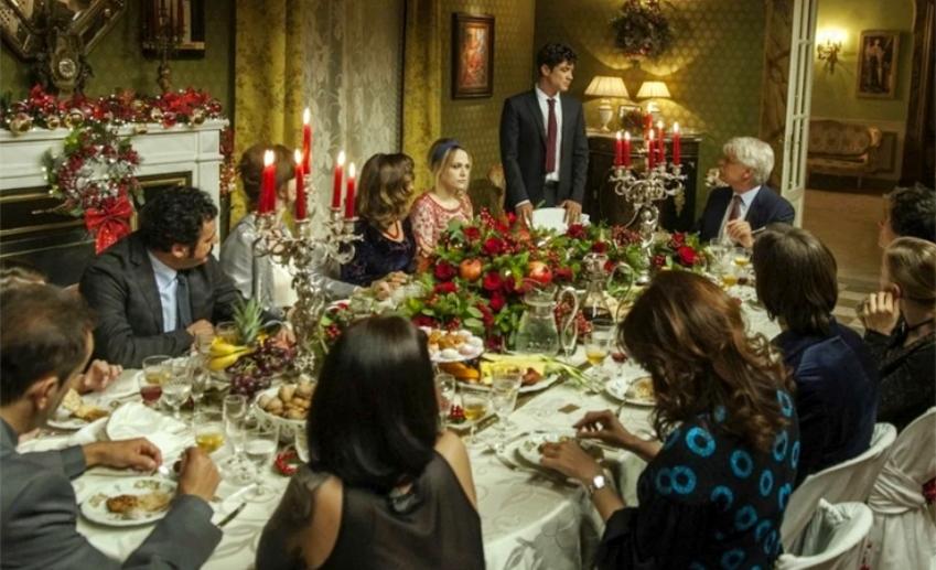 Parenti di primo grado, la cena di Natale