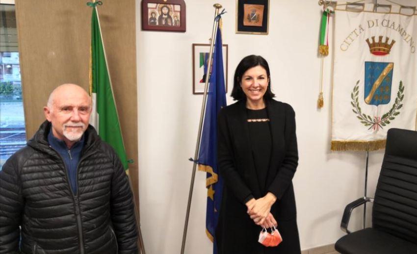 Ciampino, Francesco Febbraro, Daniela Ballico