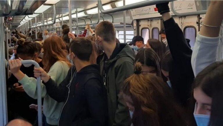 bus metro covid-19 roma