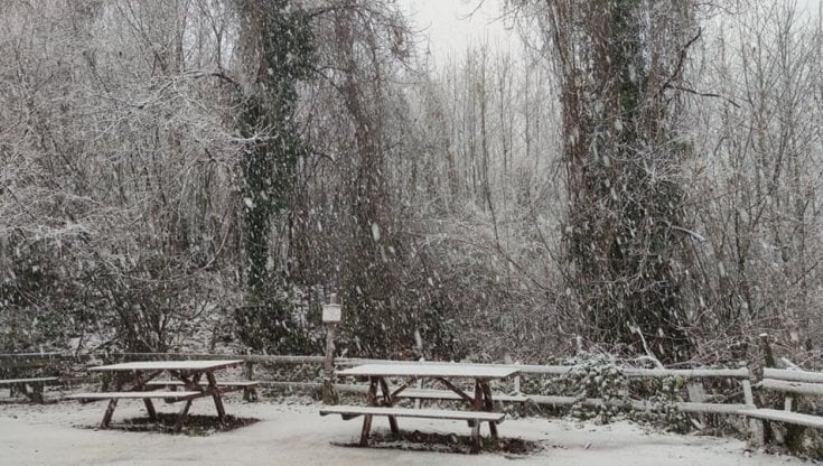neve lazio maltempo