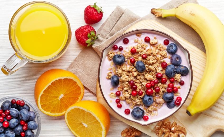 alimentazione, colazione, frutta