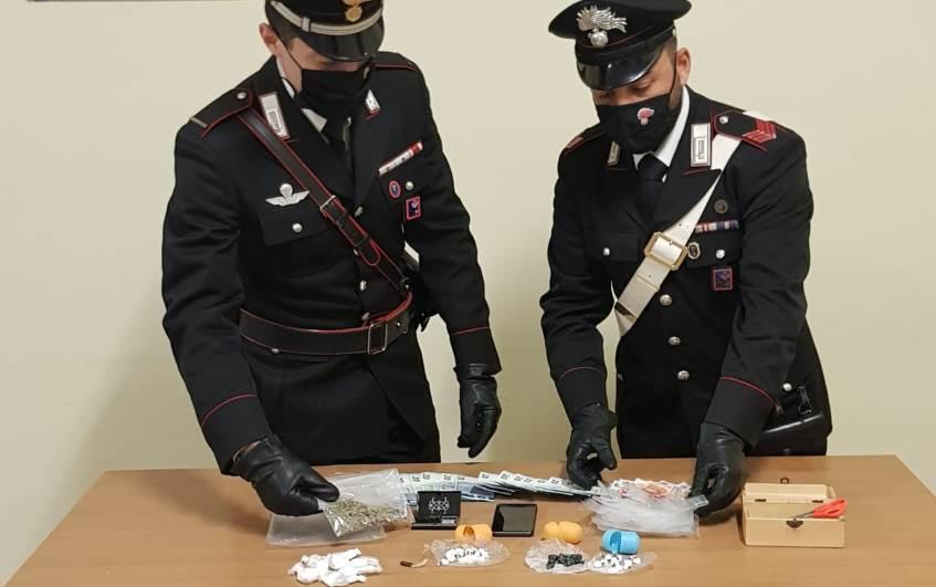 pomezia cocaina arrestato