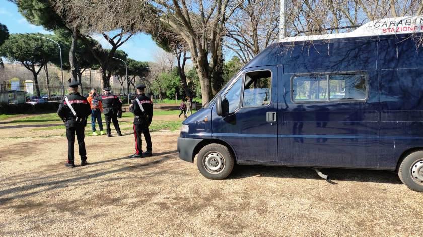 carabinieri villa gordiani stazione termini defibrillatore controlli roma