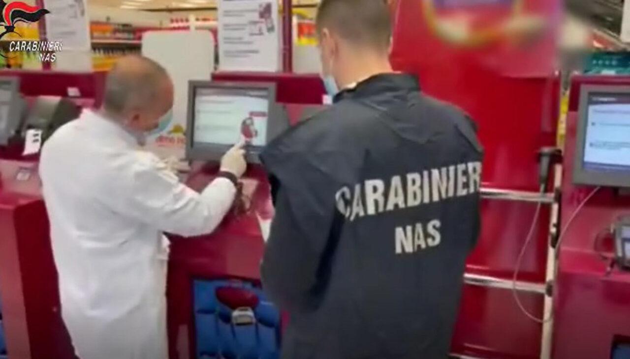 covid supermercati nas roma lazio