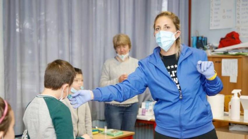 test salivari scuole san cesareo covid-19