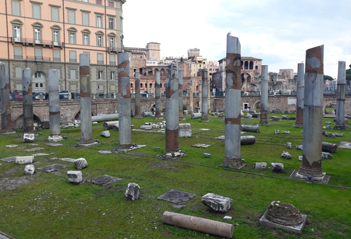 Fori Imperiali, colonne della Basilica Ulpia (Roma)