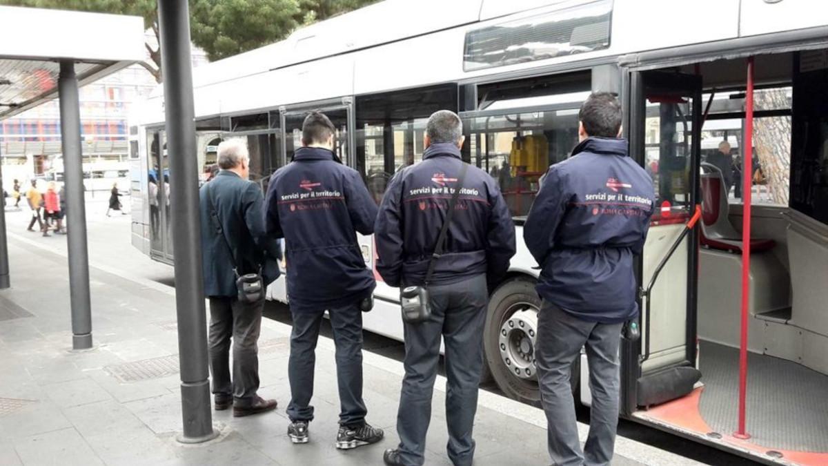 Controllori Roma bus