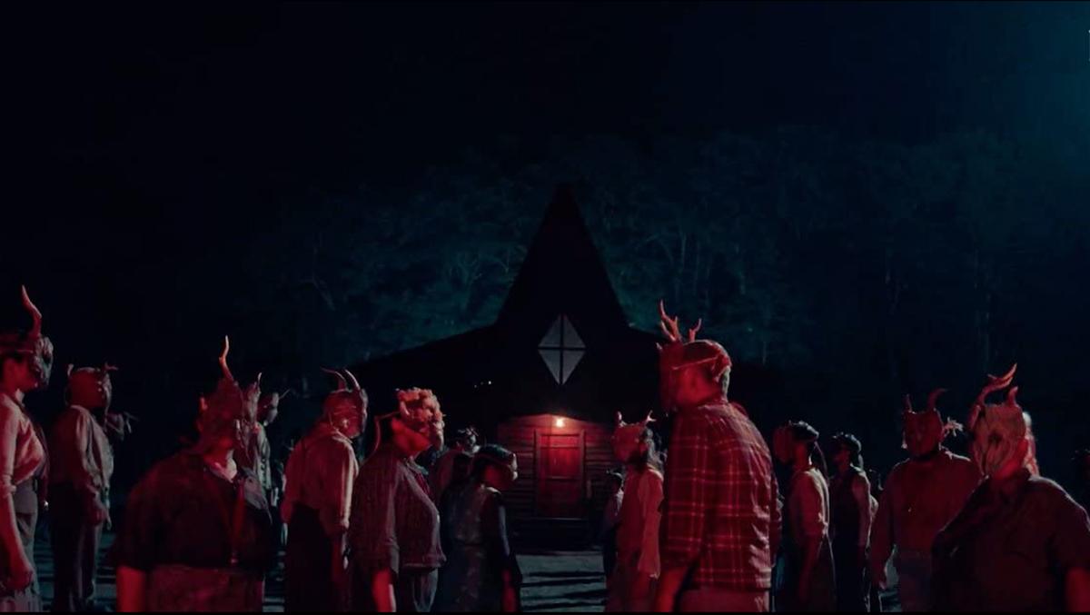 scena dal film a classic horror story