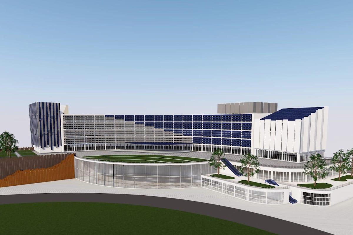 Il progetto grafico del Nuovo Ospedale Tiburtino di Tivoli
