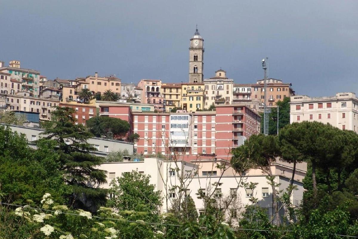 Frosinone, vista della città