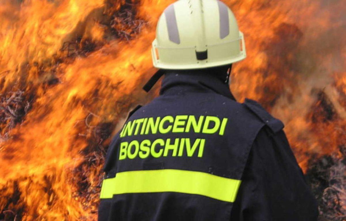 emergenza incendi nel lazio
