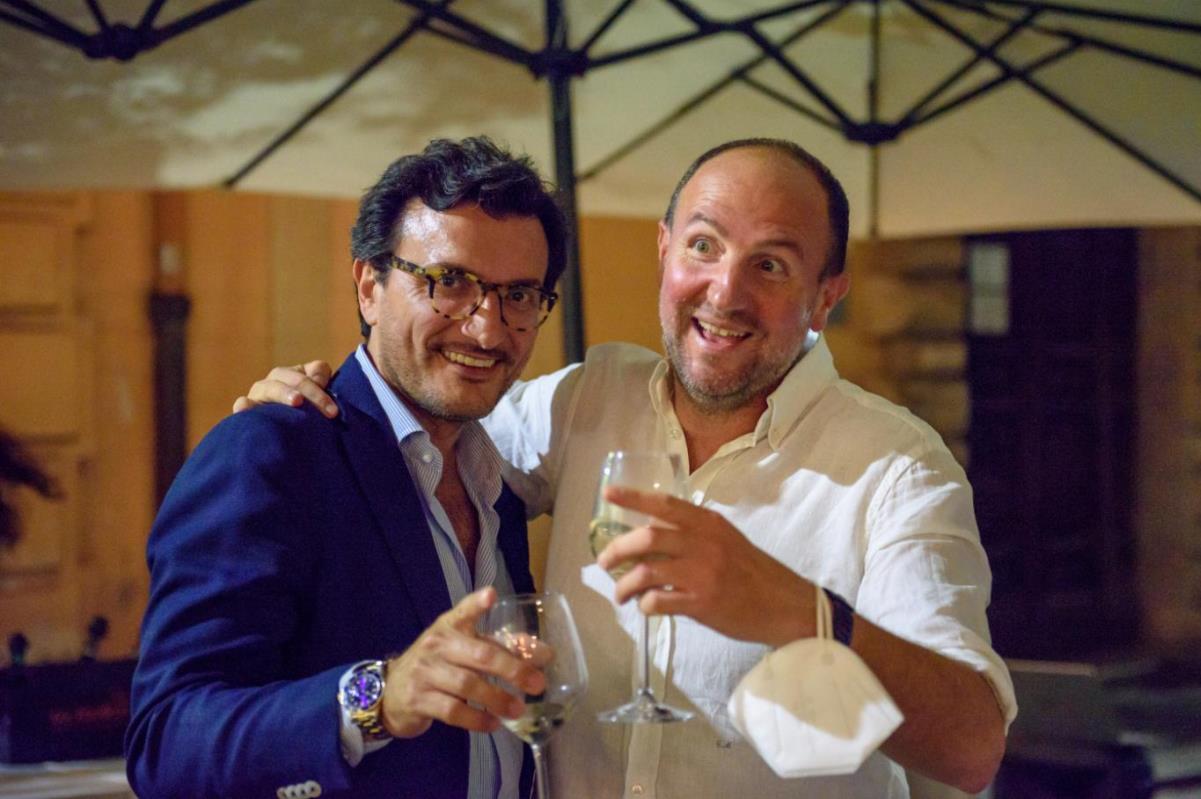 Aiga, Angelo David D'Ambrogio e Giuseppe Morgante
