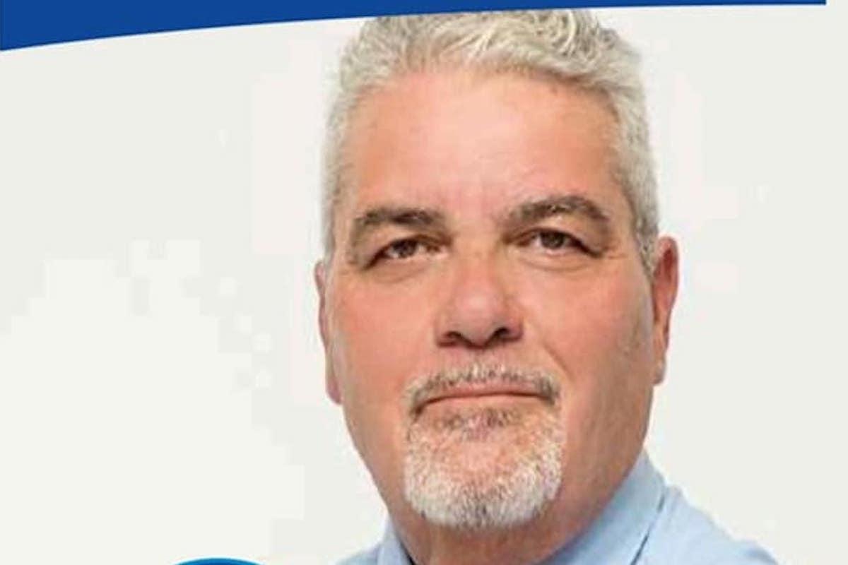 Massimo Gibbini, candidato consigliere per la lista Fare Latina