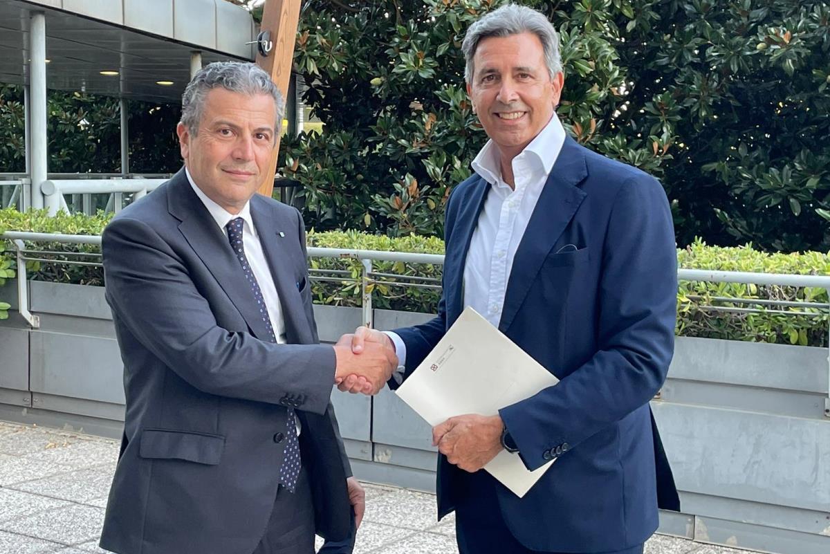 Gherardo Zei e Giacomo Gargano, Federmanager Roma
