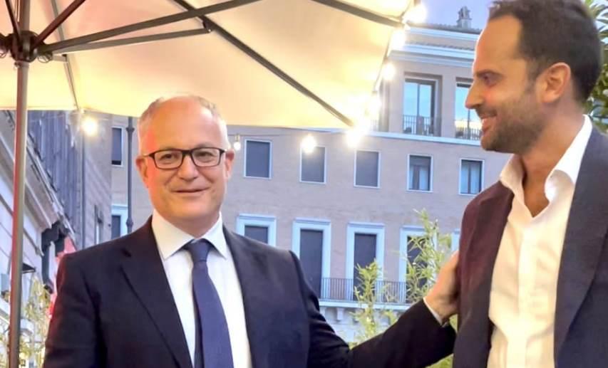 Roberto Gualtieri, Alessandro Cinque