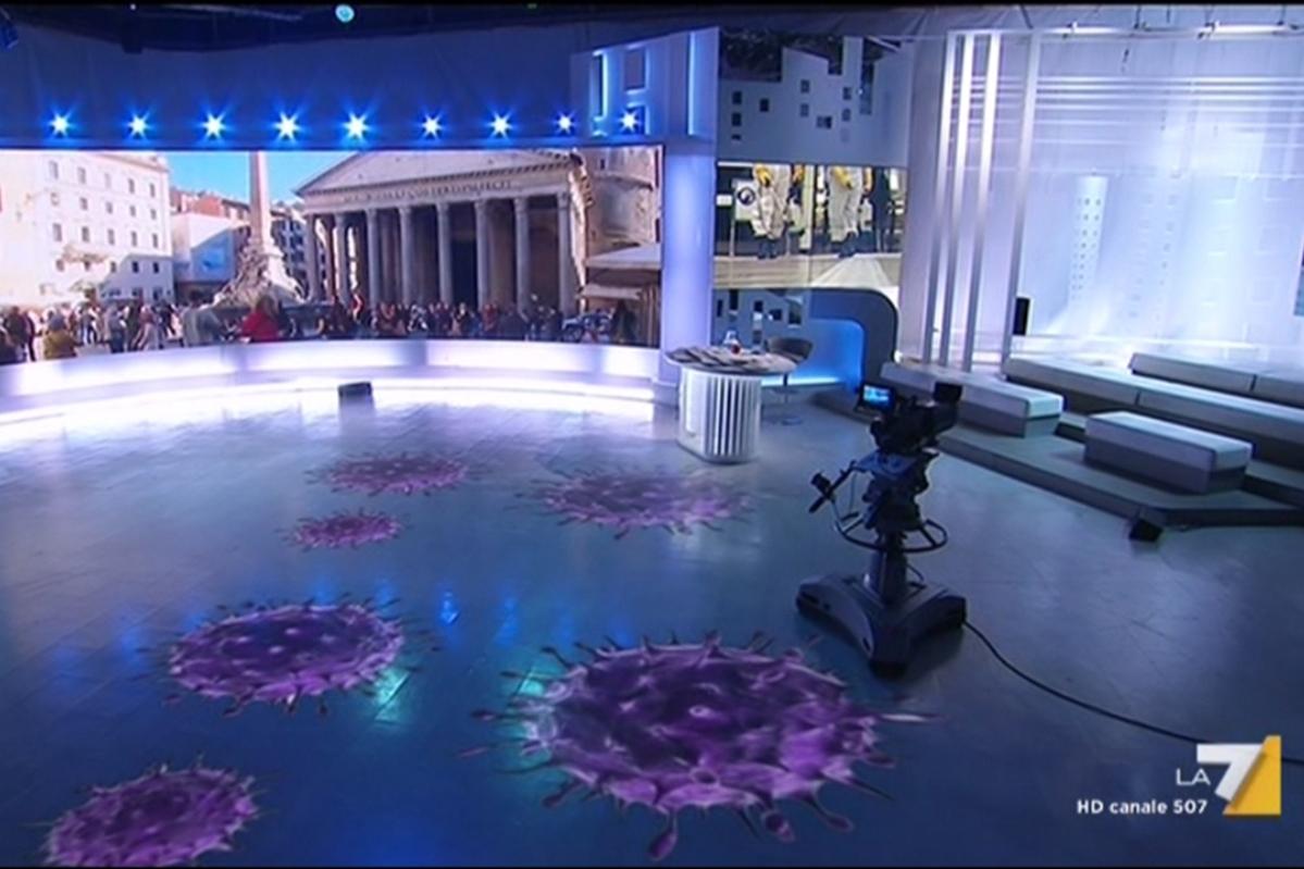 Studio televisivo, La7