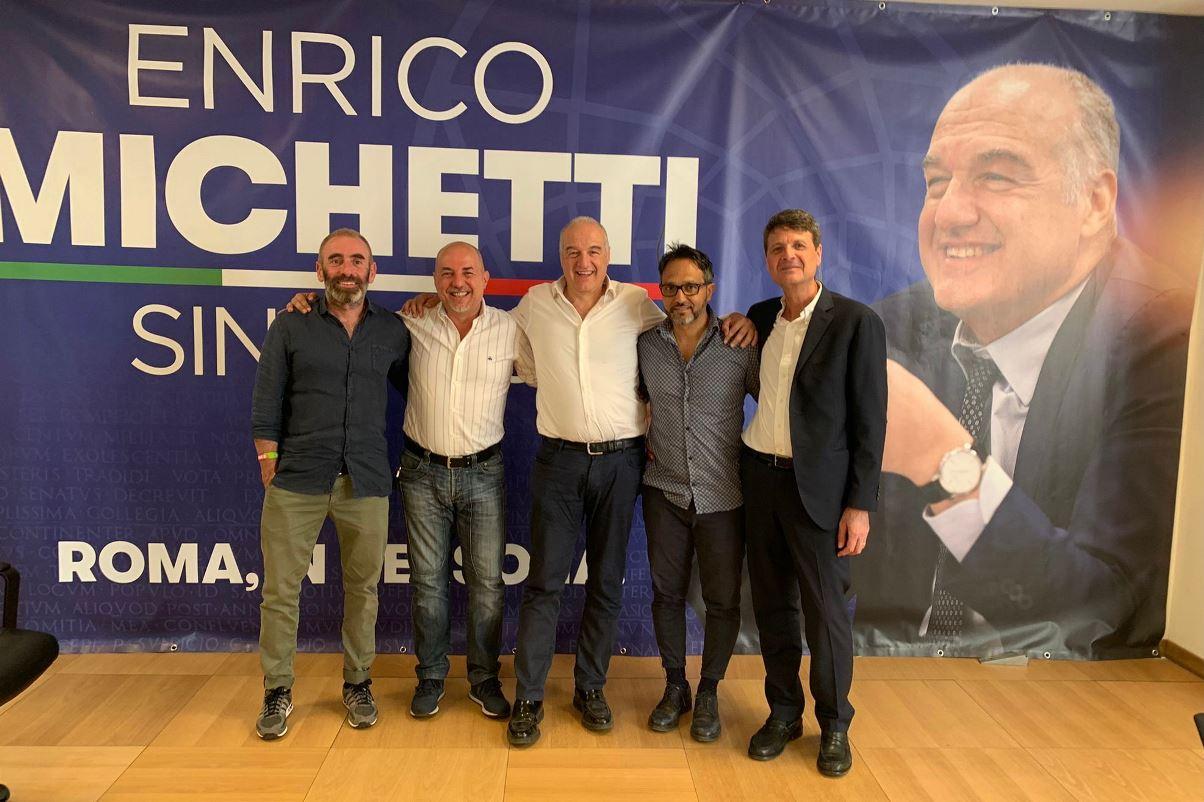 Massimo Cimini, Fulvio Giuliano, Enrico Michetti, Daniele Laureti, Avv. Gino Giuliano