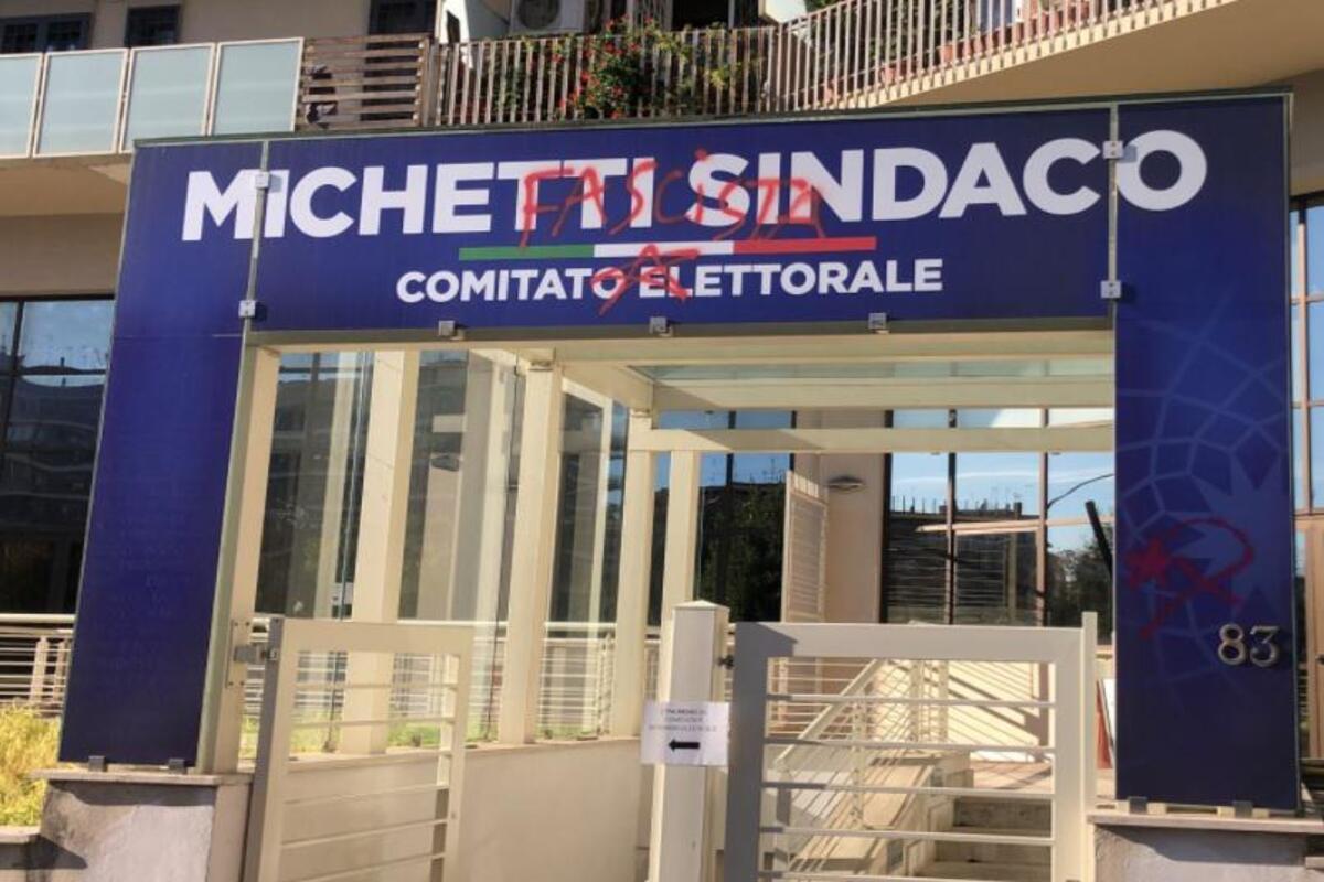 Comitato elettorale Michetti