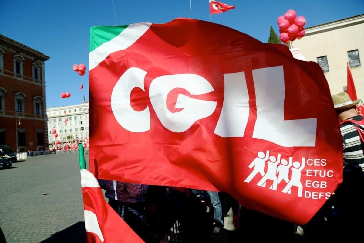Manifestazione sindacati a Roma
