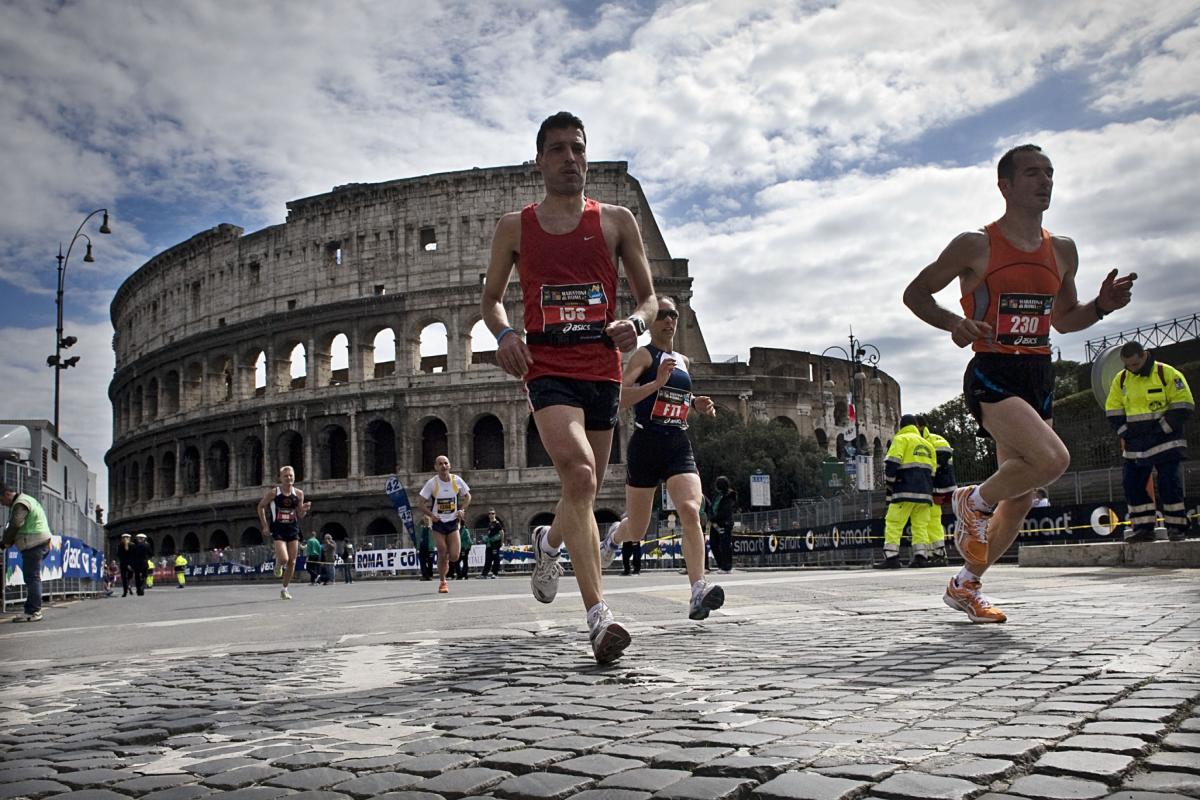 Maratona a Roma